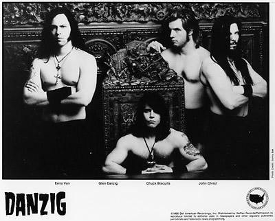 Danzig Promo Print  : 8x10 RC Print
