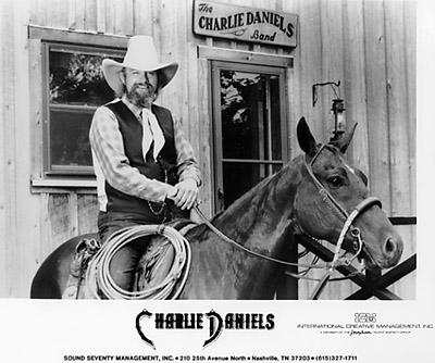 Charlie Daniels Promo Print  : 8x10 RC Print