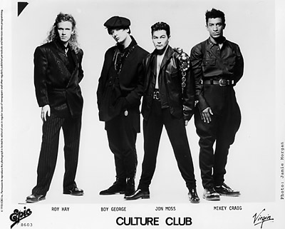 Culture Club Promo Print  : 8x10 RC Print