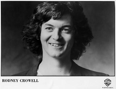 Rodney Crowell Promo Print  : 8x10 RC Print