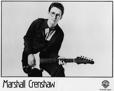 Marshall Crenshaw Promo Print  : 8x10 RC Print