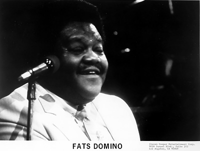 Fats Domino Promo Print  : 8x10 RC Print