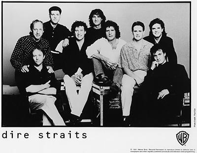 Dire Straits Promo Print  : 8x10 RC Print