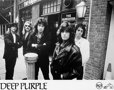 Deep Purple Promo Print  : 8x10 RC Print