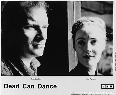 Dead Can Dance Promo Print  : 8x10 RC Print