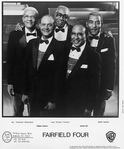 Fairfield Four Promo Print  : 8x10 RC Print