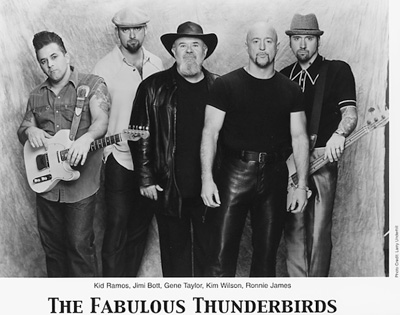 The Fabulous Thunderbirds Promo Print  : 8x10 RC Print