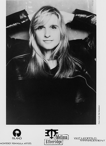 Melissa Etheridge Promo Print  : 8x10 RC Print