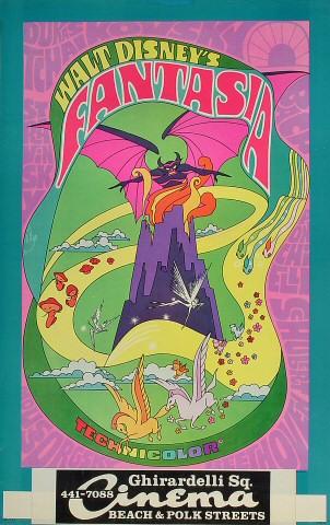 "Fantasia Poster from Ghirardelli Square : 14"" x 22"""