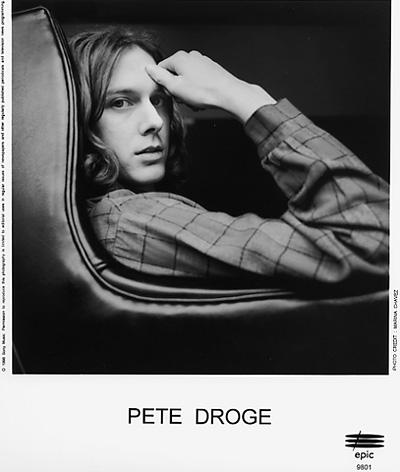 Pete Droge Promo Print  : 8x10 RC Print