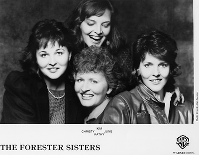 The Forester Sisters Promo Print  : 8x10 RC Print