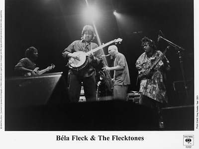 Bela Fleck &amp;amp; The Flecktones Promo Print  : 8x10 RC Print