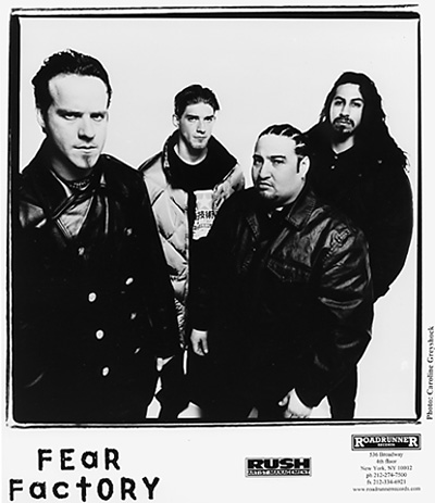 Fear Factory Promo Print  : 8x10 RC Print