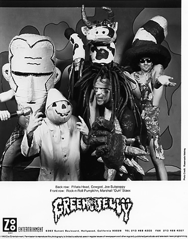 Green Jelly Promo Print  : 8x10 RC Print