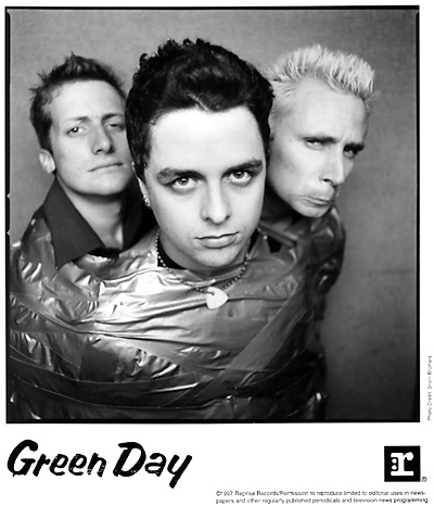 Green Day Promo Print  : 8x10 RC Print