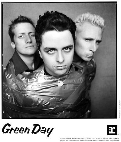 Green Day Promo Print  : 8x10 RC Print