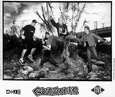 Goldfinger Promo Print  : 8x10 RC Print