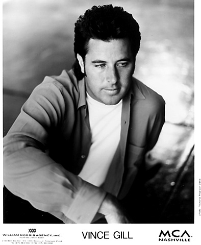 Vince Gill Promo Print  : 8x10 RC Print