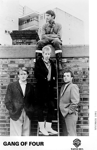 Gang of Four Promo Print  : 8x10 RC Print