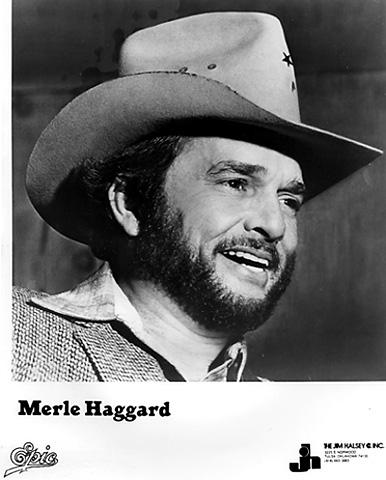 Merle Haggard Promo Print  : 8x10 RC Print