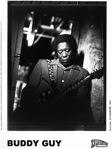 Buddy Guy Promo Print  : 8x10 RC Print