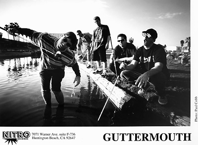 Guttermouth Promo Print  : 8x10 RC Print