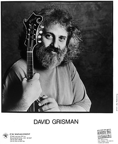 David Grisman Promo Print  : 8x10 RC Print