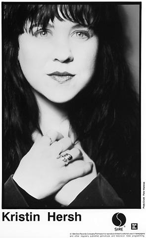 Kristin Hersh Promo Print  : 8x10 RC Print