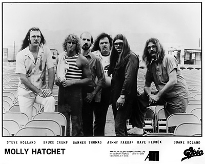 Molly Hatchet Promo Print  : 8x10 RC Print
