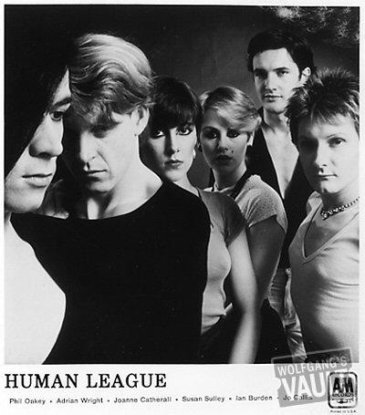 Human League Promo Print  : 8x8 RC Print