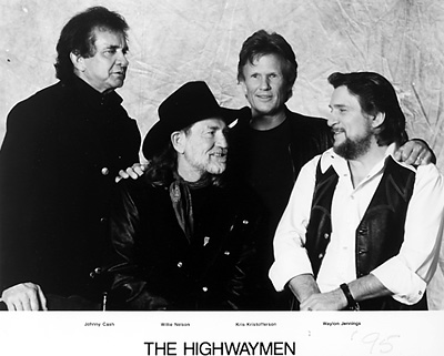 The Highwaymen Promo Print  : 8x10 RC Print