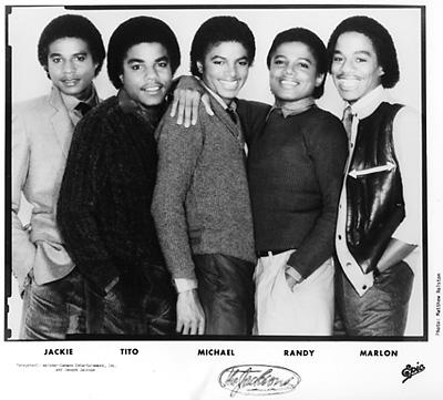 The Jackson 5 Promo Print  : 8x10 RC Print