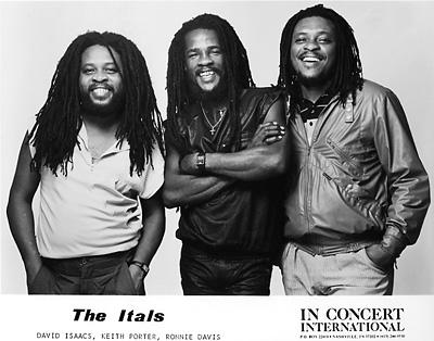 The Itals Promo Print  : 8x10 RC Print