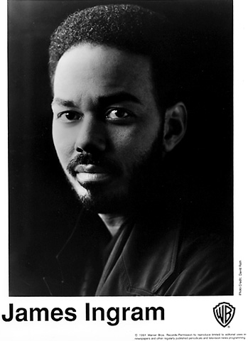 James Ingram Promo Print  : 8x10 RC Print