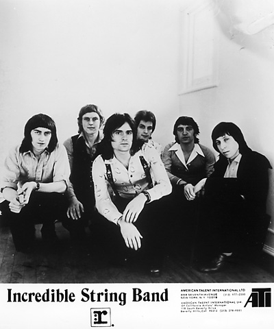 The Incredible String Band Promo Print  : 8x10 RC Print