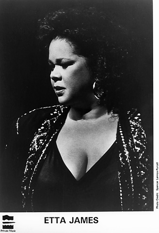 Etta James Promo Print  : 8x10 RC Print