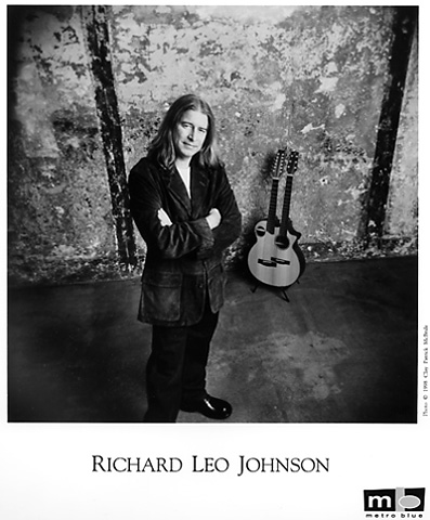 Richard Leo Johnson Promo Print  : 8x10 RC Print