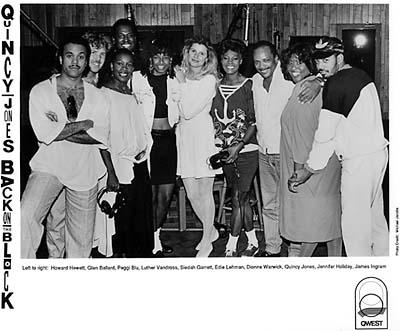 Quincy Jones Promo Print  : 8x10 RC Print