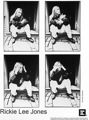 Rickie Lee Jones Promo Print  : 8x10 RC Print