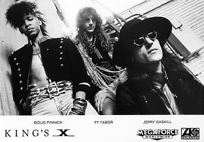 King's X Promo Print  : 5x7 RC Print