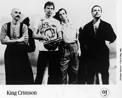 King Crimson Promo Print  : 8x10 RC Print