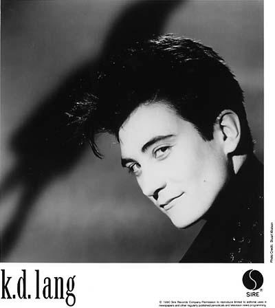 k.d. lang Promo Print  : 8x10 RC Print