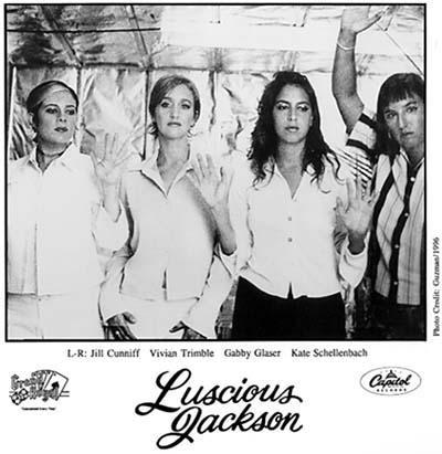 Luscious Jackson Promo Print  : 8x10 RC Print