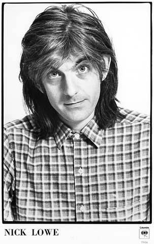 Nick Lowe Promo Print  : 8x10 RC Print