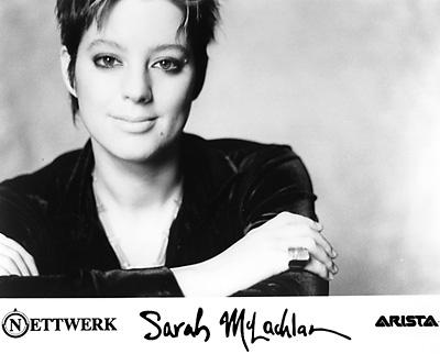 Sarah McLachlan Promo Print  : 8x10 RC Print