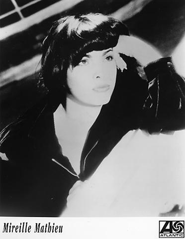 Mireille Mathieu Promo Print  : 8x10 RC Print