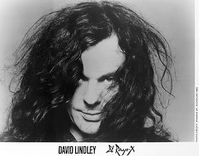 David Lindley Promo Print  : 8x10 RC Print