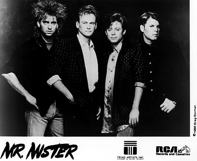 Mr. Mister Promo Print  : 8x10 RC Print