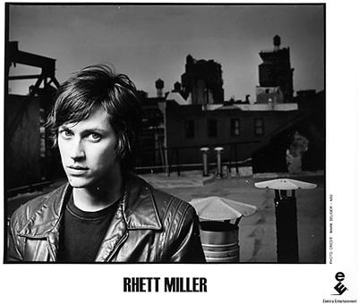 Rhett Miller Promo Print  : 8x10 RC Print