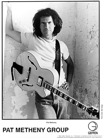 Pat Metheny Promo Print  : 8x10 RC Print